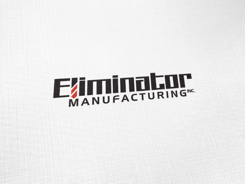 Eliminator Manufactueing Logo Design