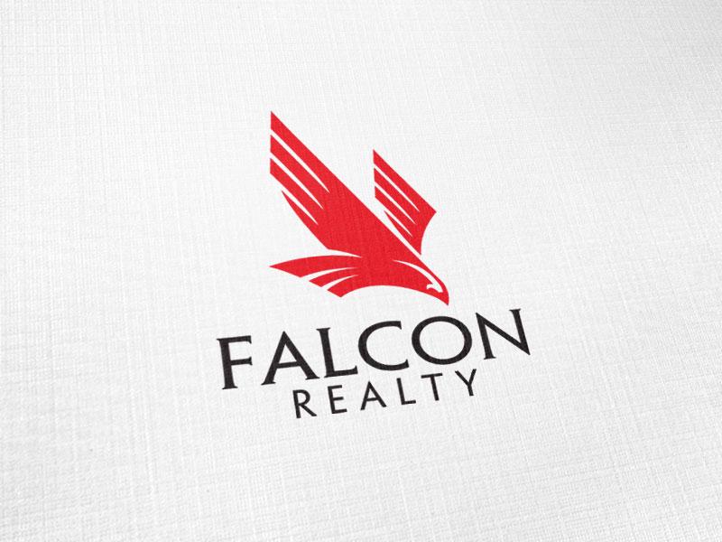 Falcon Realty Logo Design