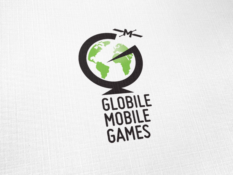 Globile Mobile Games Logo Design