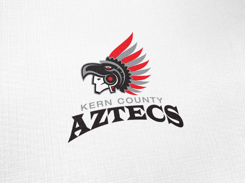 Kern County Aztecs Logo Design