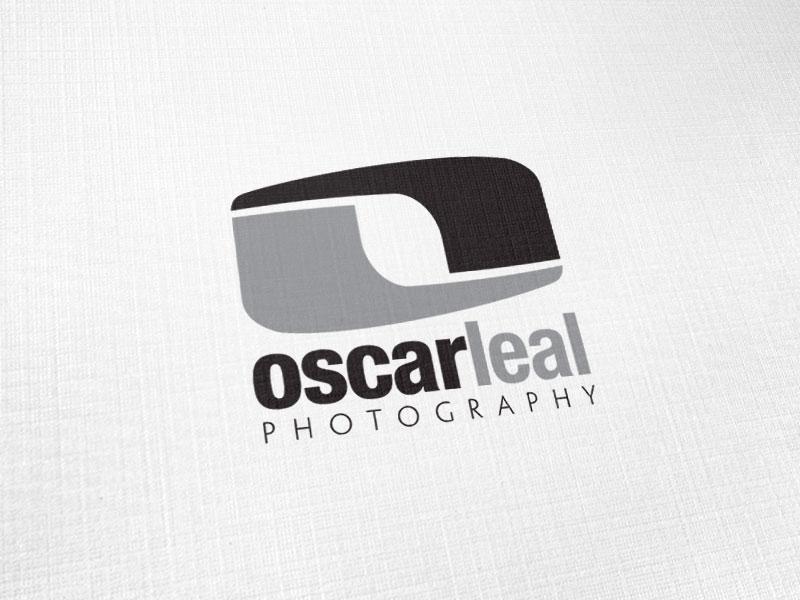 Oscar Leal Photography Logo Design