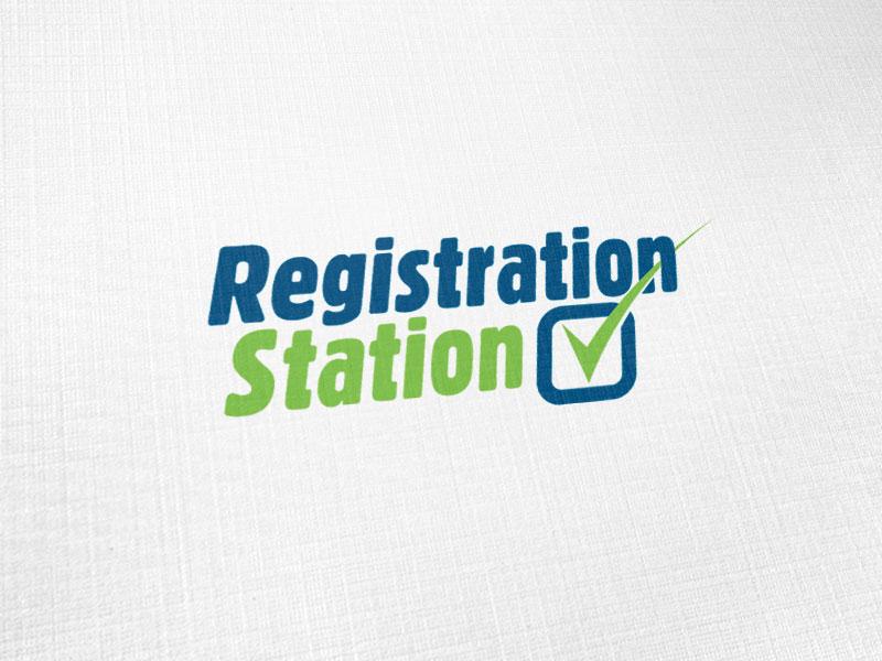 Registration Station Logo Design