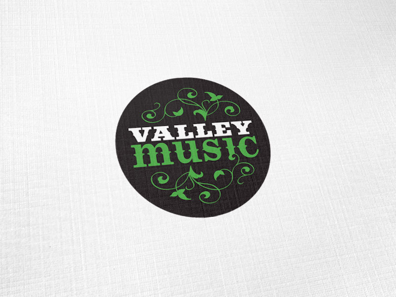 Valley Music Logo Design