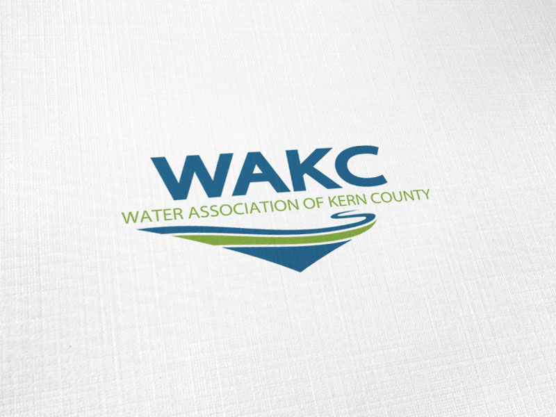 Water Association of Kern County Logo Design