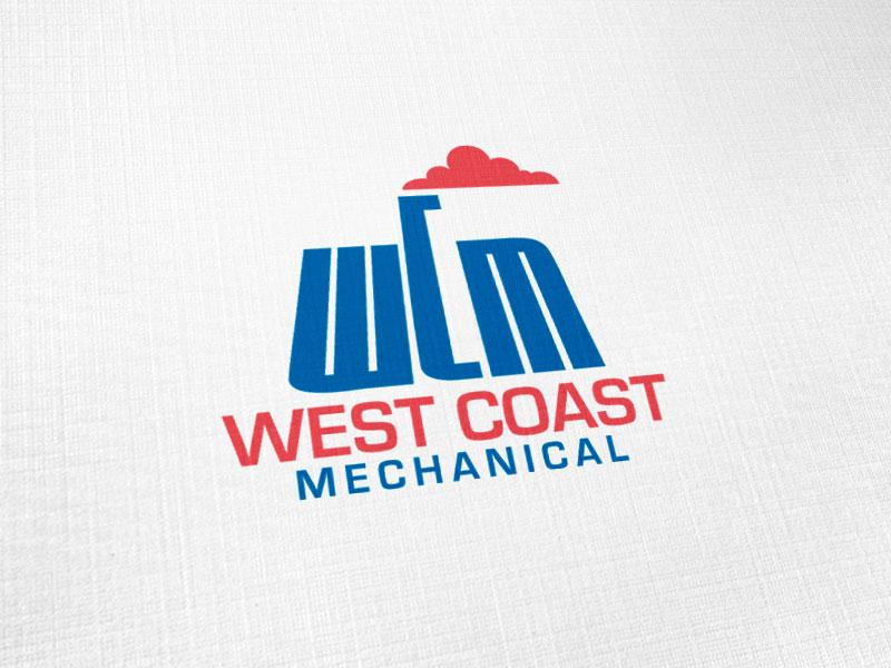 West Coast Mechanical Logo Design