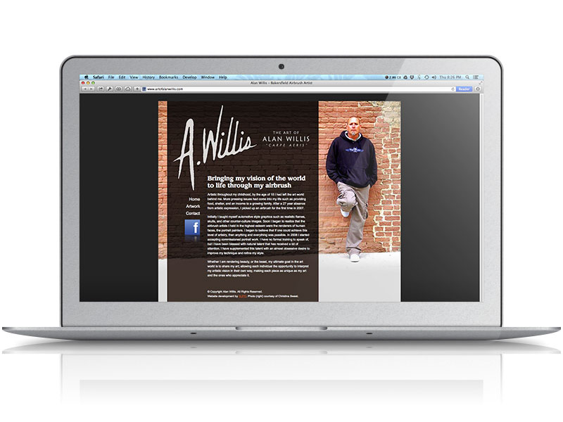 Alan Willis Web Design