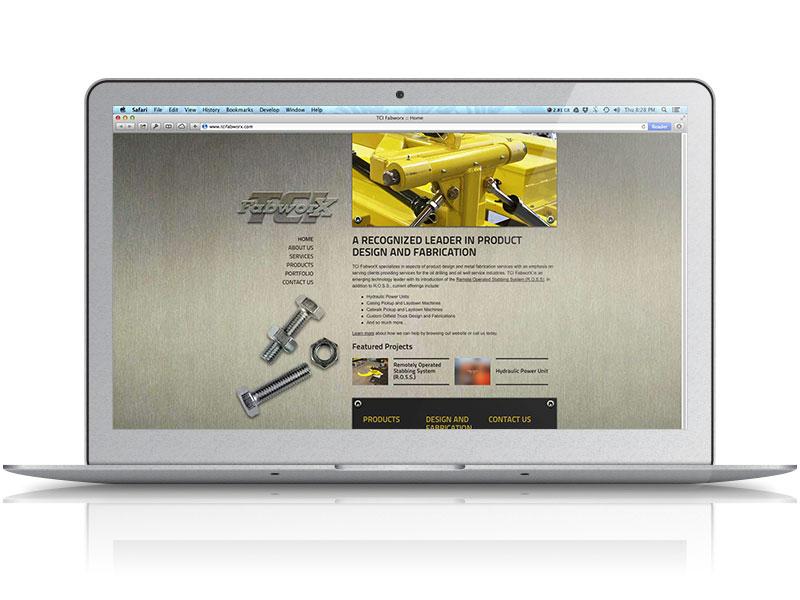 TCI Fabworx Web Design