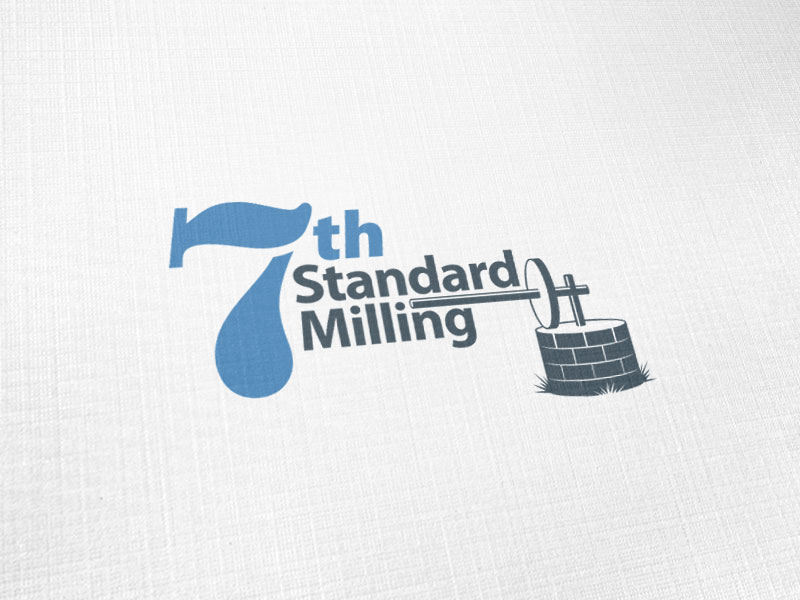 7th Standard Milling Logo Design
