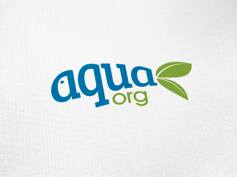 Aqua Org Logo Design
