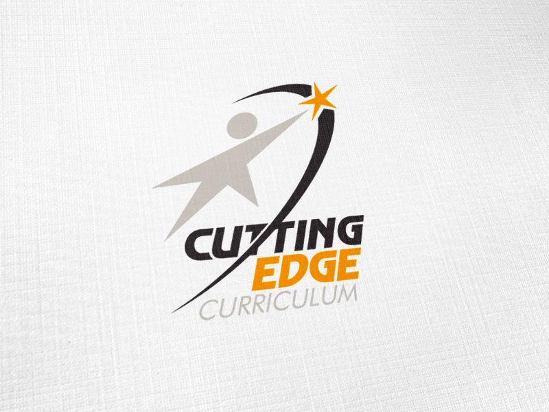 Cutting Edge Curriculum Logo Design