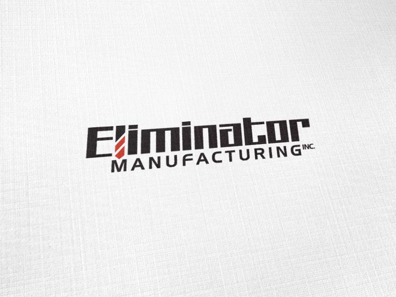 Eliminator Manufactueing Logo Design