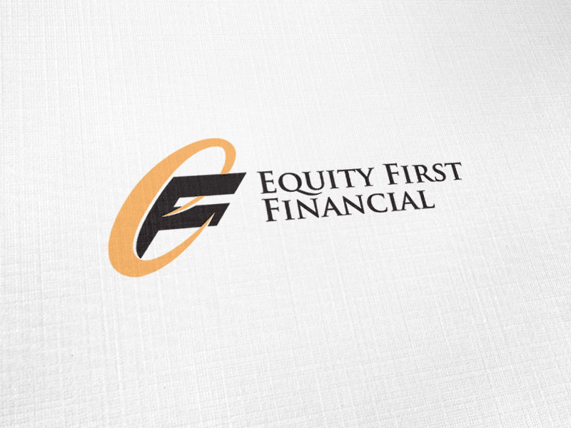 Equity First Financial Logo Design