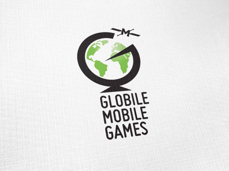 Globile Mobile Games Logo Design
