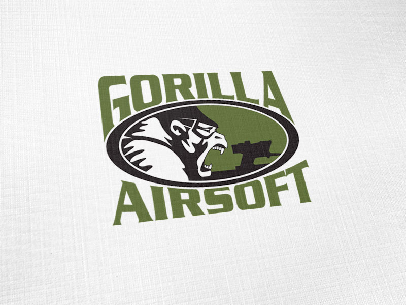 Gorilla Airsoft Logo Design