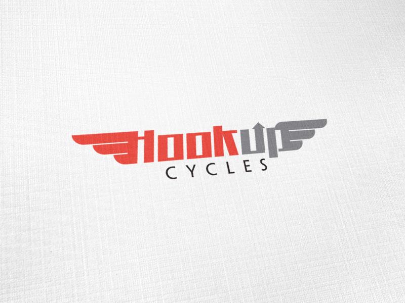 Hookup Cycles Logo Design