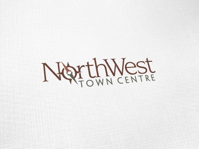NorthWest Town Centre Logo Design