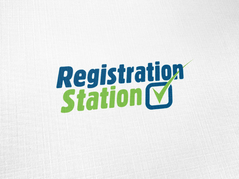 Registration Station Logo Design