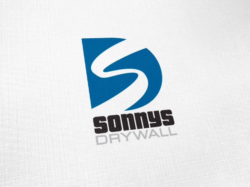 Sonnys Drywall Logo Design