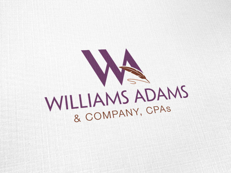 Williams Adams & Company Logo Design